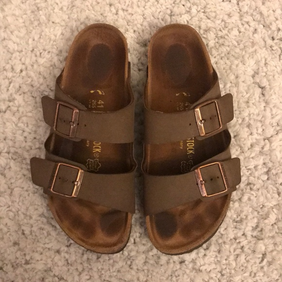 Papillio Birkenstock Arizona Platform Sandals 41 L10 M8 265